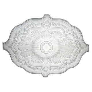Shop 36 Inch Oval Eloquent Ceiling Medallion Free