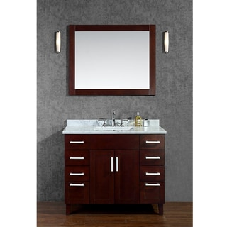 "Frampton 42"" Single-sink Bathroom Vanity Set"