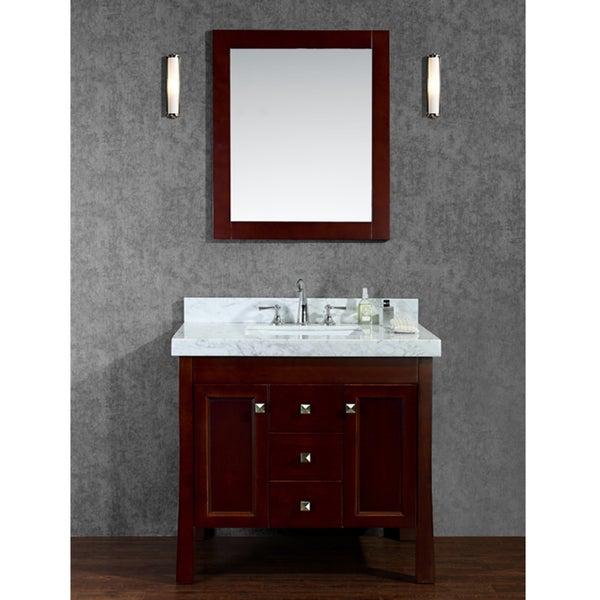 Greenbrier 36 Single Sink Bathroom Vanity Set