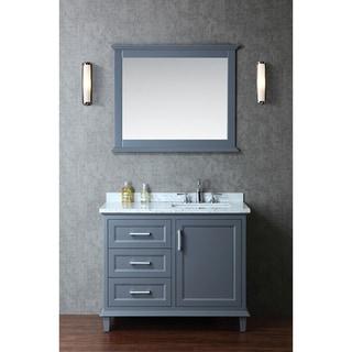 Gentil Nantucket 42 Inch Single Sink Bathroom Vanity Set