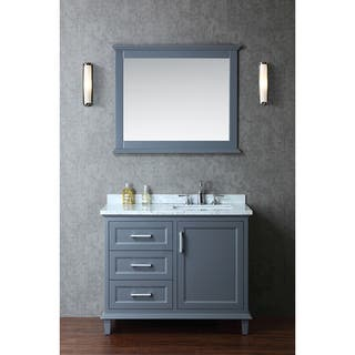 bathroom vanities with sinks. Nantucket 42 inch Single sink Bathroom Vanity Set Vanities  Cabinets For Less Overstock com