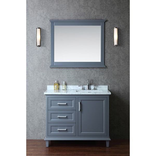 bathroom vanity set. Nantucket 42 inch Single sink Bathroom Vanity Set  Free Shipping