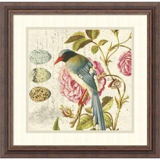 Bird Study 1' Framed Art Print 18 x 18-inch