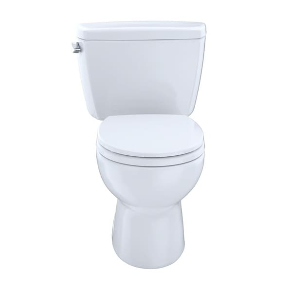 Shop Toto Eco Drake Two-Piece Round 1.28 GPF Toilet with Right-Hand ...