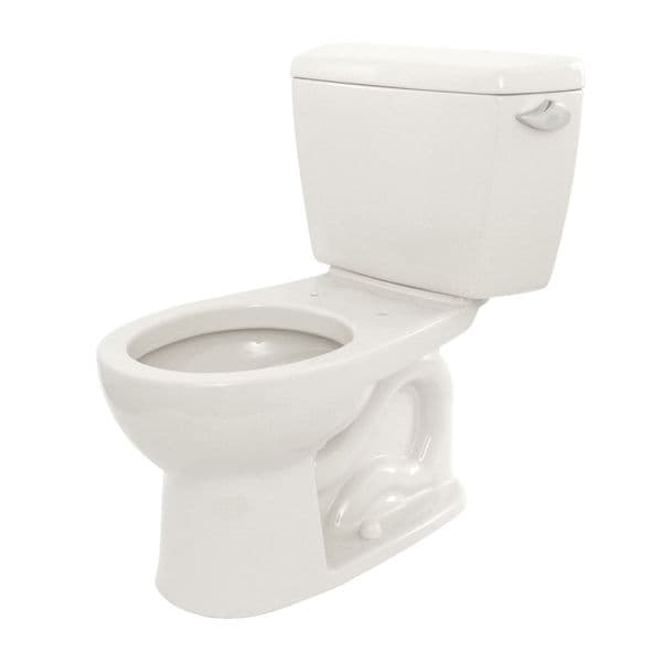 Toto Eco Drake Round Bowl Toilet With Right Hand Tank