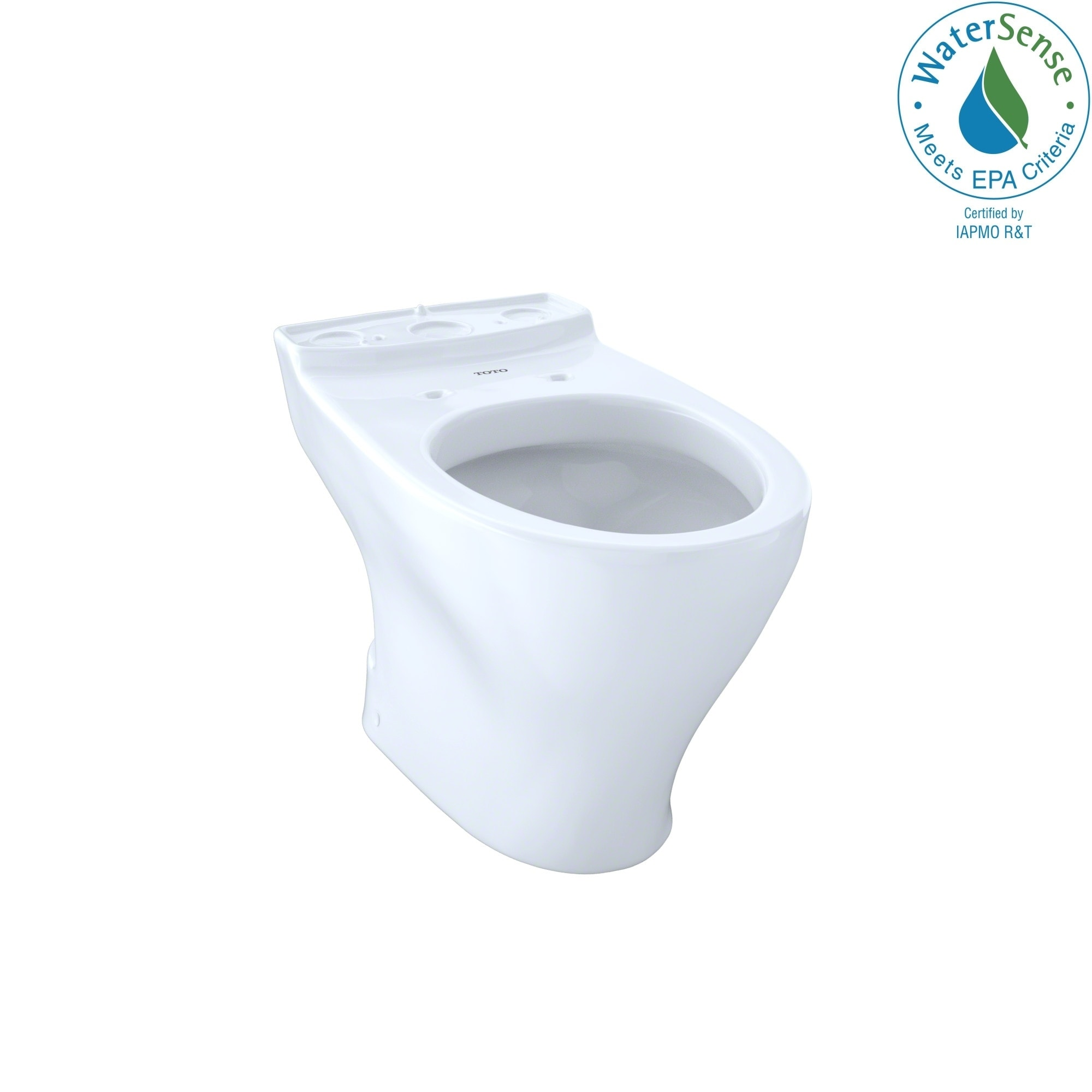 Toto Aquia Dual Flush Elongated Toilet Bowl with 10-inch ...
