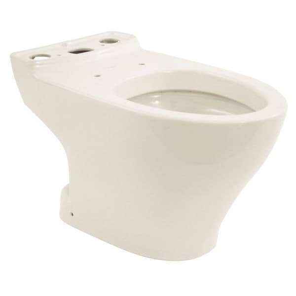 Toto Aquia Dual Flush Elongated Toilet Bowl With 10 Inch Rough In Less Seat
