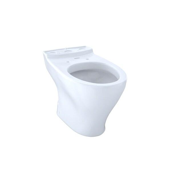 Shop Toto Aquia Dual Flush Elongated Toilet Bowl With 10 Inch Rough