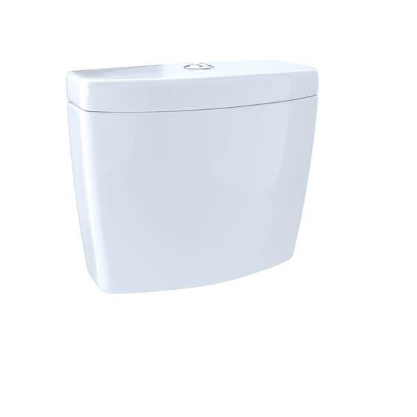 Toto Aquia II Dual-Max, Dual Flush 1.6 and 0.9 GPF Toilet Tank ST416M#01 Cotton White