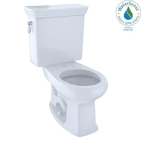 Toto Promenade Sanagloss 2-piece E-Max Universal Height Round Toilet