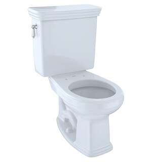 Toto Promenade Sanagloss 2-piece G-Max Universal Height Round Toilet