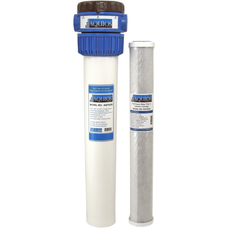 Aquios Fs 220 Salt Free Water Softener And Filtration