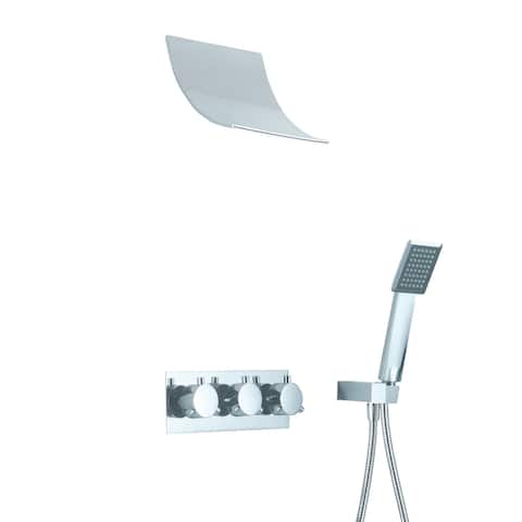 Sumerain Waterfall Style Shower Faucet
