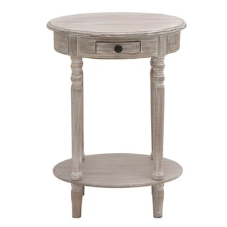 Butler Petite Wood Oval Accent and End Table