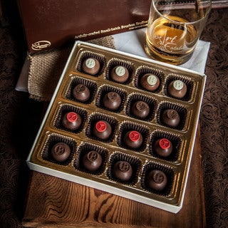 Art Eatables Bold Chocolate Sampler Small-batch Bourbon Truffles