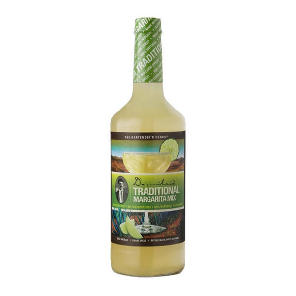 Demitri's All Natural Traditional Margarita Mix (Case of 12)