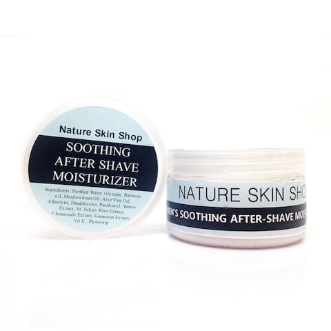 Handmade 5 Ounce Soothing After-Shave Moisturizer