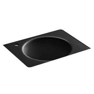 Kohler Tandem Black Black Under-mount Utility Sink