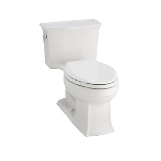 Kohler Archer White Elongated Toilet with Class Five Flushing Technology