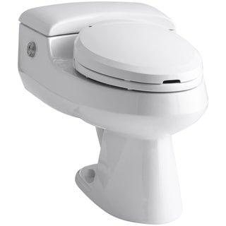 Kohler San Raphael White Comfort Height Power Lite Elongated Toilet