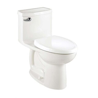 American Standard Compact Cadet 3 FloWise White Elongated Toilet