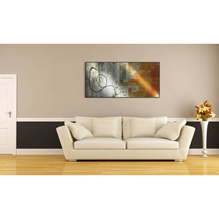 Gallery Direct Jane Bellows's 'The Abstracted' Metal Art