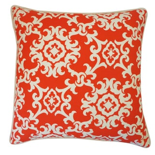 Alvin Red Throw Pillow