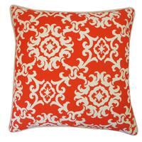 Alvin Red Throw Pillow