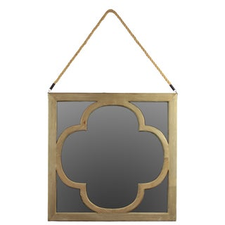 Urban Trends Collection Square Wooden Mirror