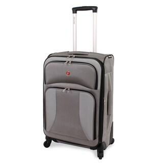 SwissGear 7211 24-inch Grey Medium Expandable Spinner Upright Suitcase|https://ak1.ostkcdn.com/images/products/9167877/SwissGear-7211-24-inch-Grey-Medium-Expandable-Spinner-Upright-Suitcase-P16345096.jpg?_ostk_perf_=percv&impolicy=medium