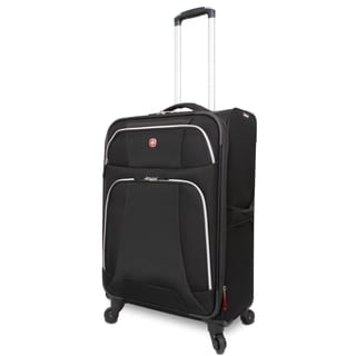 Wenger Monte Leone 24.5-inch Medium Expandable Spinner Upright Suitcase