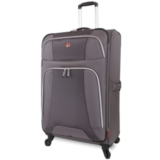 Wenger Monte Leone Grey 29-inch Large Expandable Spinner Upright Suitcase