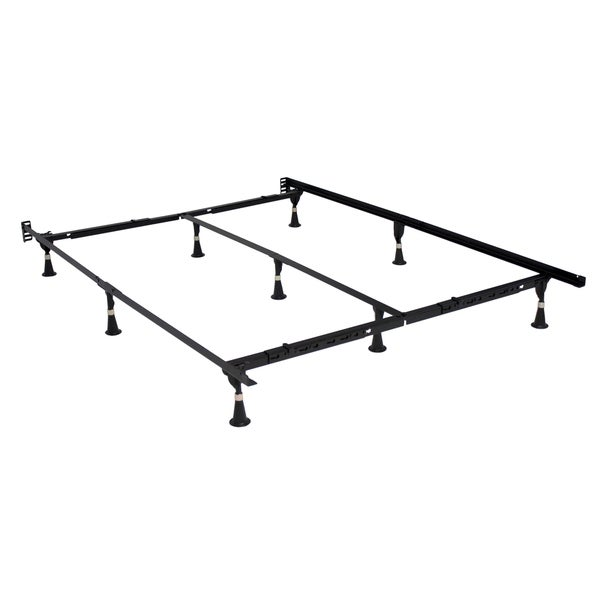 Shop E3 Premium Adjustable Bed Frame with Glides - Free Shipping ...