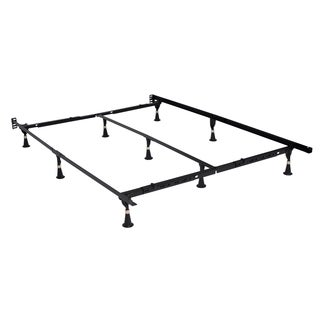 Hollywood E3 Premium Steel Adjustable Bed Frame with Glides