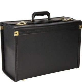 Link to Heritage Black Vinyl Catalog Case with Secure Combination Lock Closure Similar Items in Briefcases