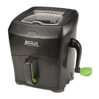 Green Cycler Garden Series Black and Lime Kitchen Scrap Pre-composter