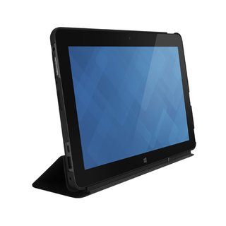 """Dell Carrying Case (Folio) for 10.8"""" Tablet, Stylus - Black"""