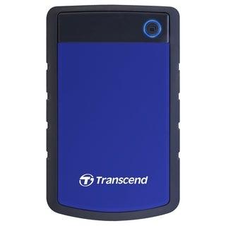 "Transcend StoreJet TS1TSJ25H3B 1 TB 2.5"" External Hard Drive"