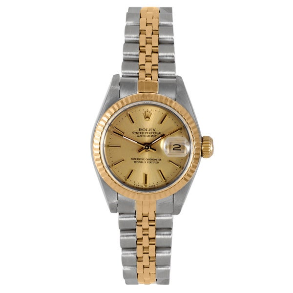 pre owned rolex s two tone jubilee bracelet