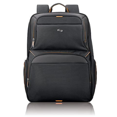 Solo Urban Black 17.3-inch Laptop and Tablet Backpack