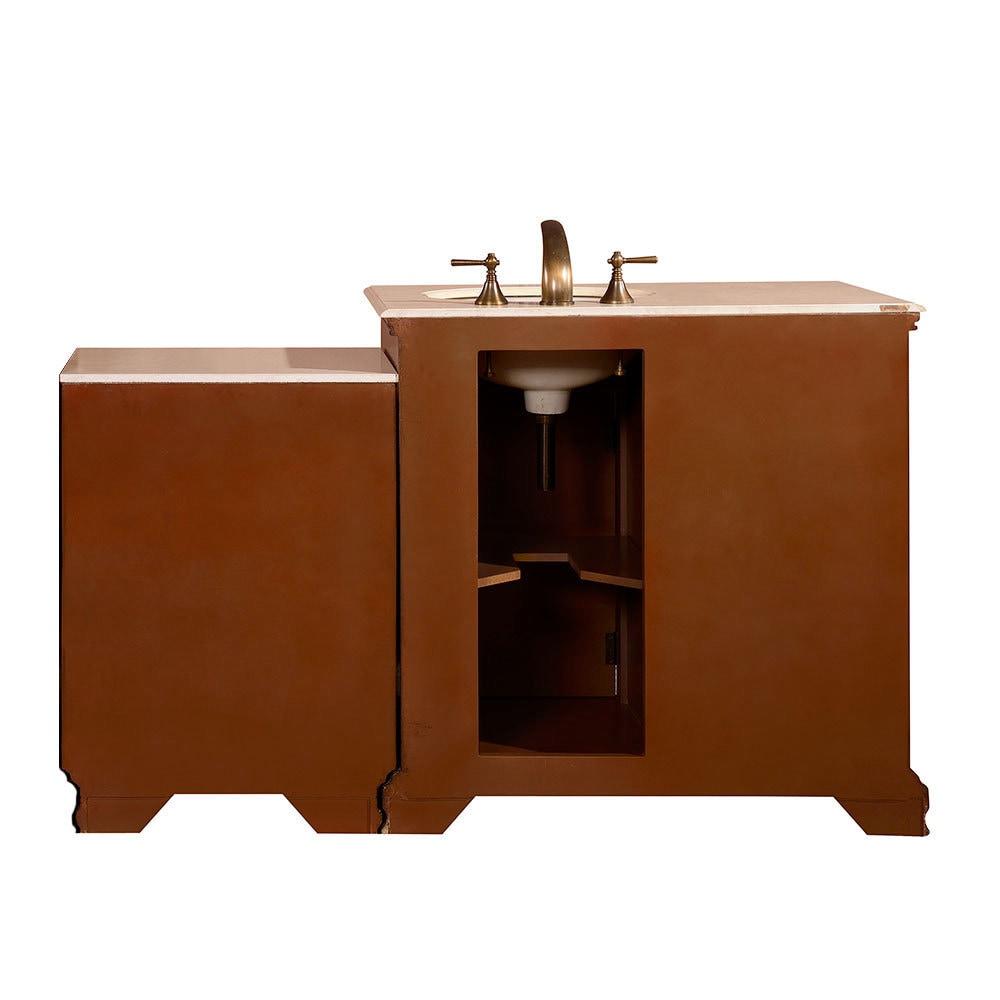 Inch Creamy Marble Counter Top Bathroom