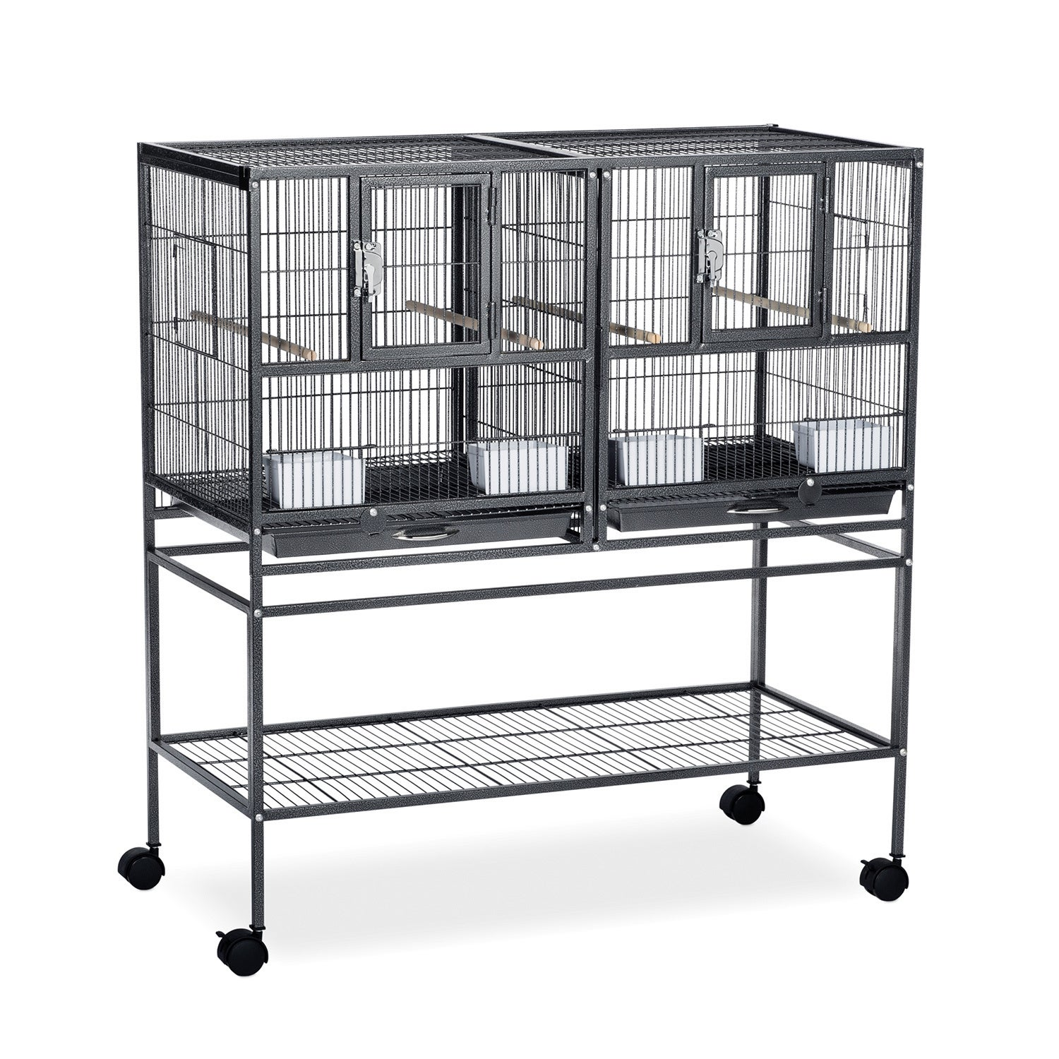 Prevue Pet Products Hampton Deluxe Divided Breeder Cage (...