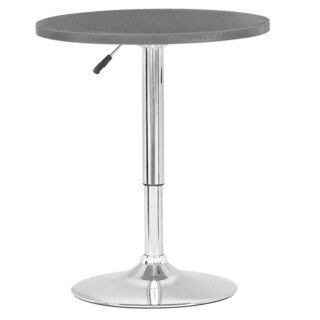 CorLiving Adjustable Height Round Bar Table