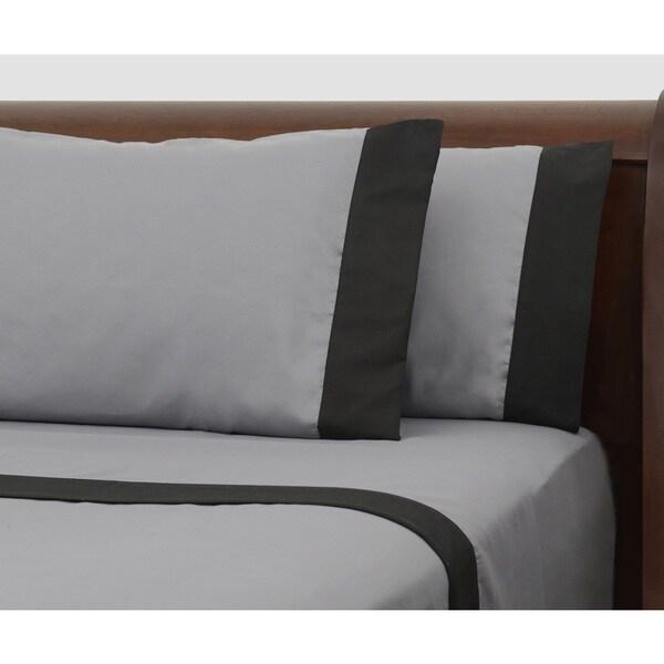 Presidential Suite Black Label Grey Sheet Set