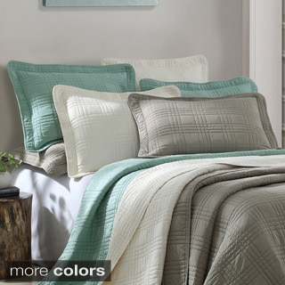 Shop Camden 3 Piece Microfiber Coverlet Free Shipping