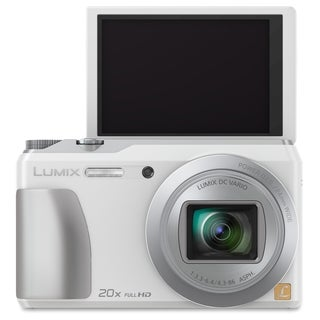 Panasonic Lumix DMC-ZS35 16 Megapixel Compact Camera - White
