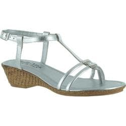 Women's Bella Vita Grazie Silver Leather