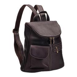 Women's LeDonne Lafayette Classic Backpack LD-9108 Café