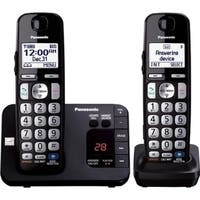 Panasonic KX-TGE232B DECT 6.0 1.90 GHz Cordless Phone - Black
