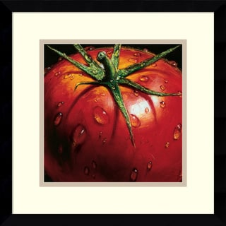 Alma'Ch 'Tomato' Framed Art Print 15 x 15-inch